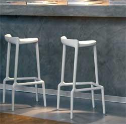 Barstoler for utemiljø Barstol til uteservering